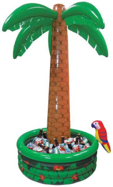 Inflatable Jumbo Palm tree cooler